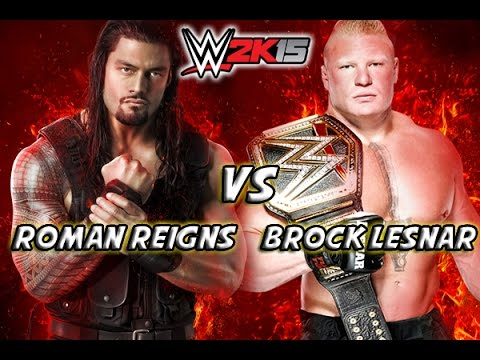 Video Roman Reigns Vs Brock Lesnar - Wrestlemania 31 download in MP3, 3GP, MP4, WEBM, AVI, FLV January 2017
