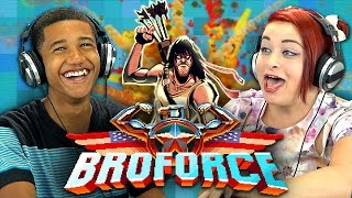 BROFORCE (Teens React: Gaming)