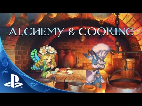 Odin Sphere Leifthrasir - Alchemy And Cooking Trailer | PS4, PS3, PS Vita