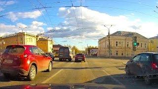 Izhevsk Russia  city photos gallery : Driving Downtown - Izhevsk city - Udmurt Republic Russia