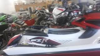 9. Kawasaki stx15f motor