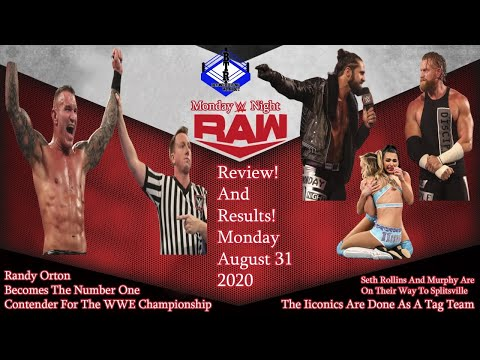 WWE Monday Night Raw Full! Show! Review! 8/31/2020 This Show Was A Complete! Waste! Of 3 Hours!