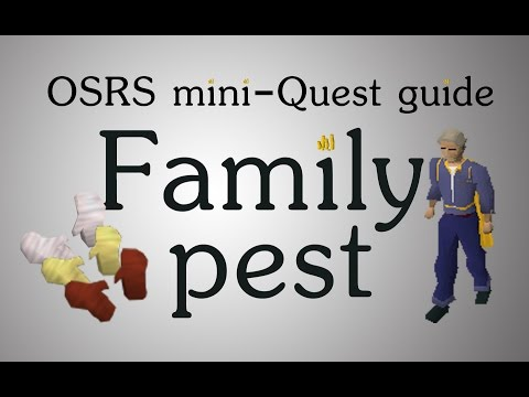 [OSRS] Family Crest Micro-quest Guide