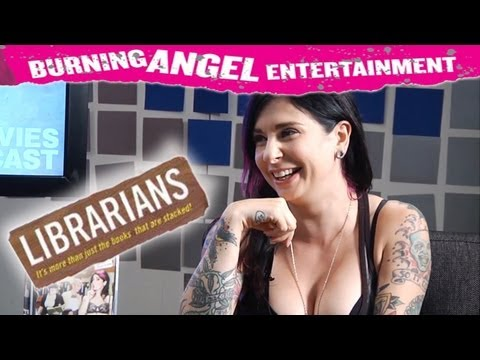 The Joanna ANGEL Interviews- Librarians (NSFW)