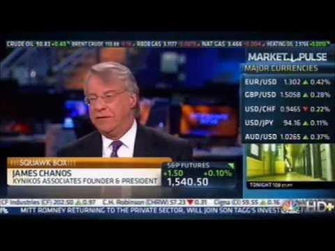 jim chanos - Famed short-seller Jim Chanos discusses the Chinese Real-Estate market, particularly the inability of market to maintain its torpid pace and the larger ramif...