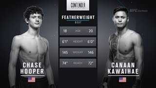 FREE FIGHT | 18-year-old Hooper Impresses | DWTNCS Week 6 Contract Winner - Season 2