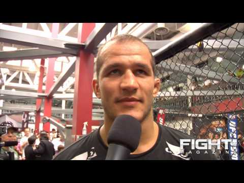 Junior dos Santos Nelson Has Big Belly I Put Some Punches There
