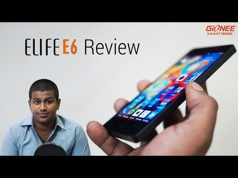 e6 - This is my FULL and Comprehensive Video Review of the Elife E6 from Gionee. The Elife E6 is the new comer Gionee's latest entrant into the over crowded Mid-R...