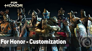 For Honor Features - Customization