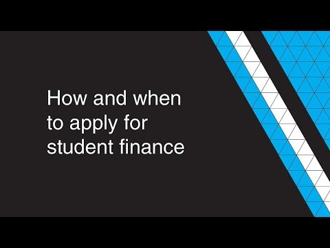 How and when to apply for student finance