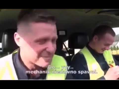 """""""Puści Pan do Grajewa?"""". Policjanci nie mogli wytrzymać ze śmiechu podczas kontroli"""