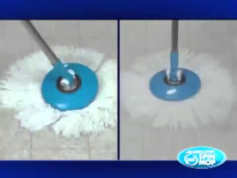 Hurricane Spin Mop   Official As Seen On TV Commercial