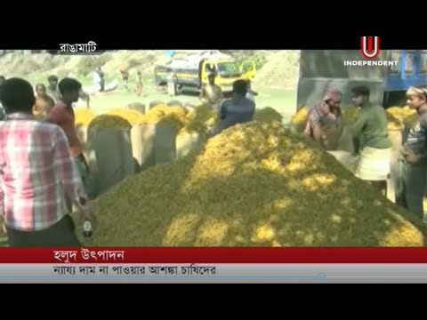 Despite quality turmeric, why hill people don't get right price? (23-02-19) Courtesy: Independent TV