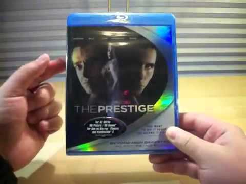 The Prestige Blu Ray Unboxing!