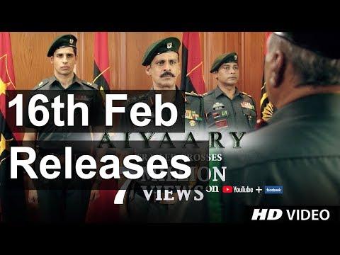 Aiyaary   Releases 16th February 2018   Neeraj Pandey   Sidharth Malhotra   Manoj Bajpayee  