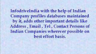 infodriveindia.com is a 13 year old market leader in providing Competitive Business Intelligence on Exports Imports.Infodrive India is a privately held company ...
