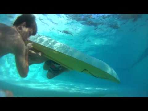 Extreme Kayaking and Diving GoPro and Sony Action – Slow Motion