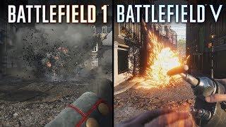 Battlefield V vs Battlefield 1 | Direct Comparison