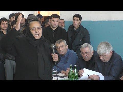 Жители Дербентского района против химпрозводства