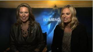 Vinessa Shaw had big shoes to fill when she signed on to play Bonnie Carroll in Big Miracle. As an adviser to President Reagan, ...