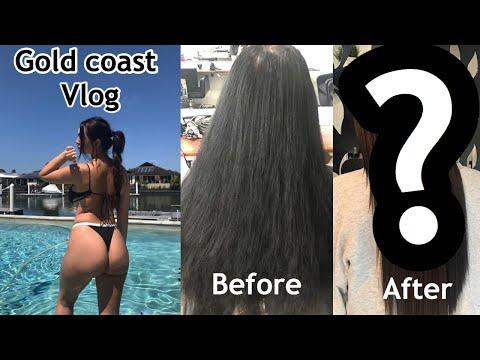 Hairdresser - GOLD COAST + NEW HAIR VLOG! Anna Paul