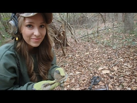 Finding Civil War Relics Metal Detecting