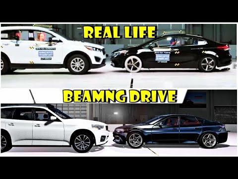 Crash test | Beamng drive vs Real life #5