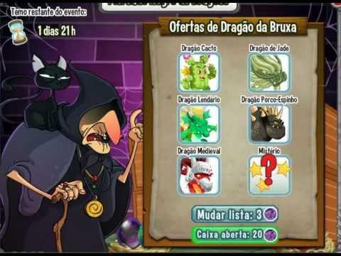 Nãaaaaaaaaaaaooooo   Dragon city Mercado negro de dragões da bruxa   Menos 20 joias