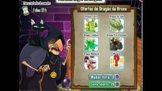 Nãaaaaaaaaaaaooooo | Dragon city|Mercado negro de dragões da bruxa | Menos 20 joias
