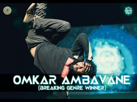 Breaking Winner - Omkar Ambavane | Genre - Your Style Your Stage | Dance Competition