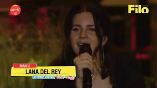 Lana Del Rey - Lollapalooza 2018 | Part 2 Full Performance from Argentina