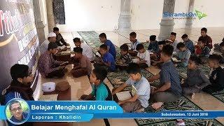 Antrean Anak-Anak Menyetor Hafalan Al Quran