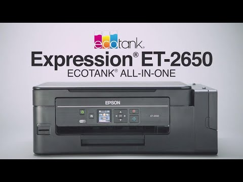 Epson expression et 2650 ecotank all in one printer ecotank an overview of the expression et 2650 ecotank supertank all in one printer reheart Images