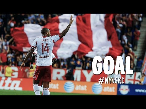 GOAL%3A Thierry Henry cracks a bullet into the back of the net %7C NY Red Bulls vs. Sporting KC