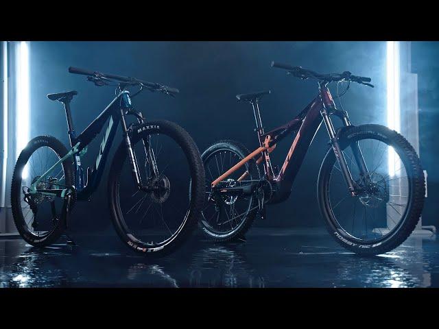 Серия двухподвесов KTM Glorious Line 2021