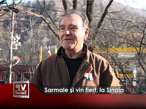 Sarmale şi vin fiert, la Sinaia
