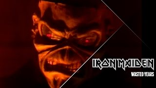 Iron Maiden  Wasted Years Official Video