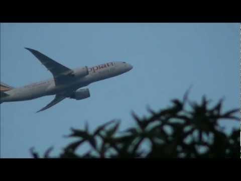Decollo primo Boeing 787-8 Dreamliner Ethiopian a Malpensa