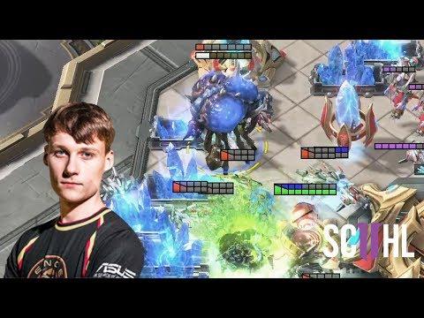 Serral's Baneling Drops - Starcraft 2: Serral vs. Stats