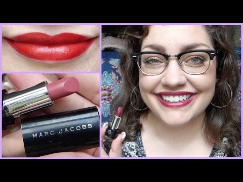Let's Test!: Marc Jacobs Beauty Le Marc Crème Lipstick