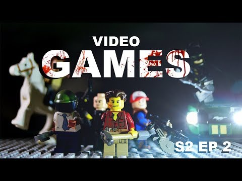 LEGO ZOMBIE KILLS VIDEO GAME STYLE - Nick's Survival Guide S2 Ep 2
