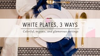 3 Cara Menata Piring di Meja Makan untuk Perayaan Idul Fitri