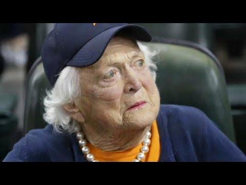 Barbara Bush entra en estado de cuidados paliativos