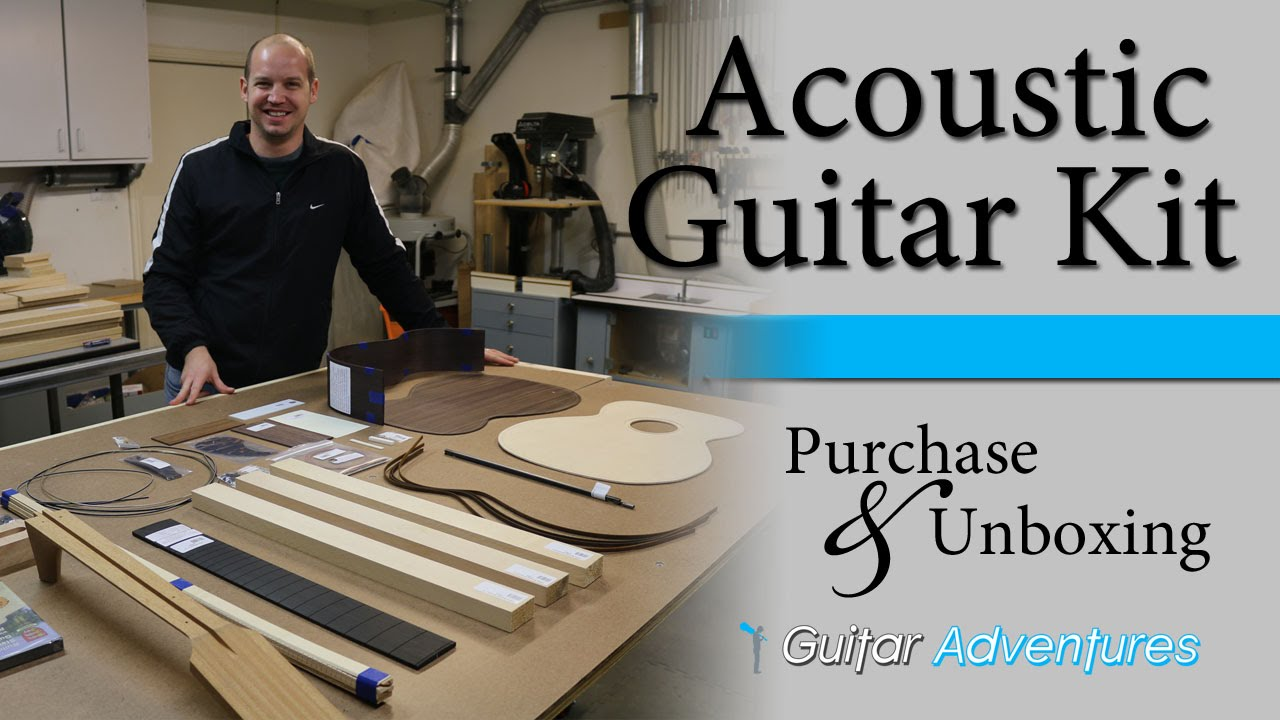 Making an Acoustic Guitar from Kit   Purchase & Unboxing