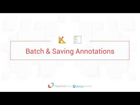 Paperscan Video Guide Episode 5 Annotations & Drawing on your documents