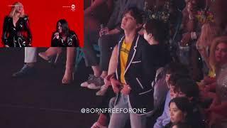 BTS (FULL) Reaction to Christina Aguilera and Demi Lovato @ BBMAs 2018