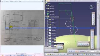 Catia V5 Tutorial|Product Engineering|How to create a Hair Dryer Cover|Simple steps Beginners|Part 4