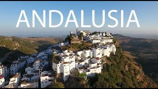 Gaucin Spain  City new picture : White Towns Andalusia Spain (Gaucín, Casares) by drone