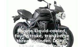 2. Triumph Speed Triple -  superbike Specification