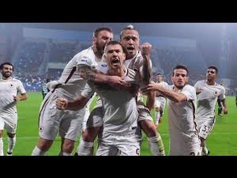 Edin Džeko Goal vs Milan Serie A TIM ( HD 720p )